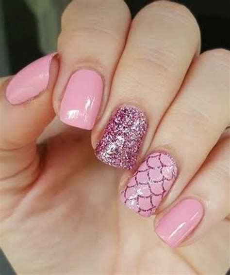 beautiful glitter nail art design for elegant nail very elegant pink glitter nail art designs for prom