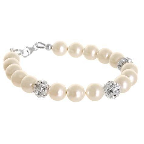 Bracelets bridal pearl crystals bracelet pictures