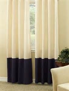 color block curtains 2 pairs of color block linen curtain panels 50 x by