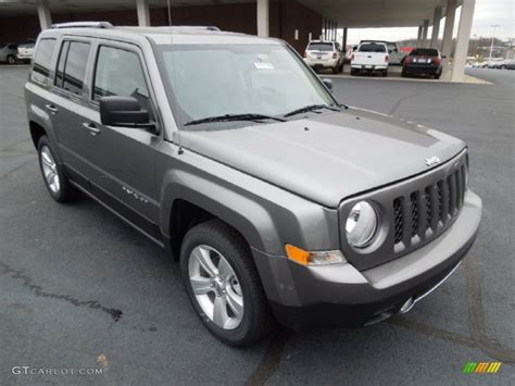 gray jeep patriot 2013 mineral gray metallic jeep patriot limited 73989450