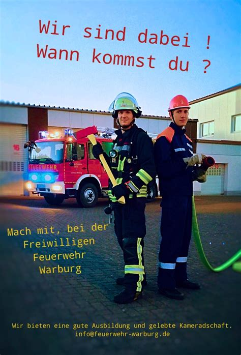 wann kommst du homepage der freiwilligen feuerwehr der hansestadt warburg