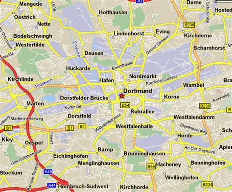 dortmund map of germany dortmund germany pictures citiestips
