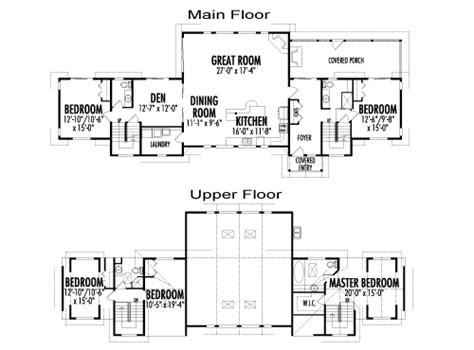 Post And Beam Floor Plans by Minden Custom Estate Homes Post Beam Cedar Homes Post
