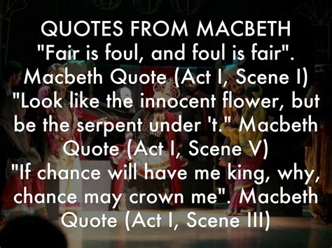 macbeth themes and supporting quotes macbeth by 18mit09z
