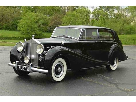 Rolls Royce For Sale by 1953 Rolls Royce Silver Wraith For Sale Classiccars