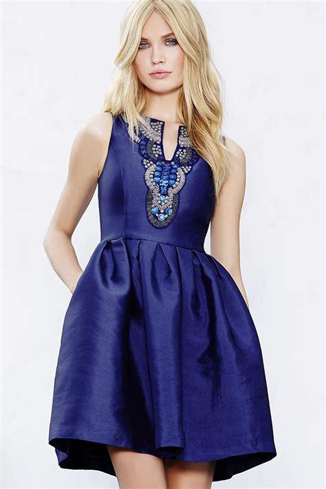 royal blue beaded dress beautiful royal blue dress beaded dress skater dress
