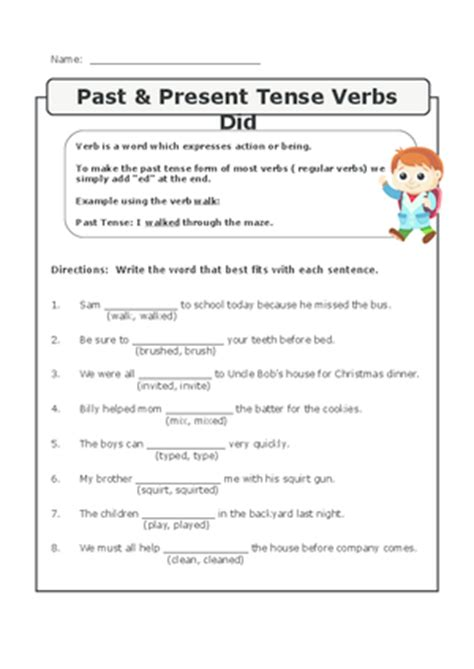 resume past tense or present employment resume sle past tense verbs worksheets abitlikethis