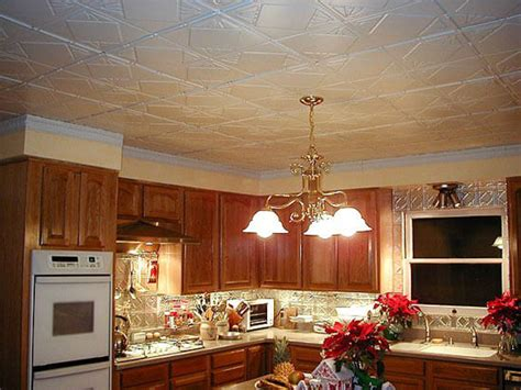 Kitchen Ceiling Panels by 16 Decorative Ceiling Tiles For Kitchens Kitchen Photo