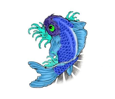 blue koi fish beautiful blue koi fish psd graphic welovesolo