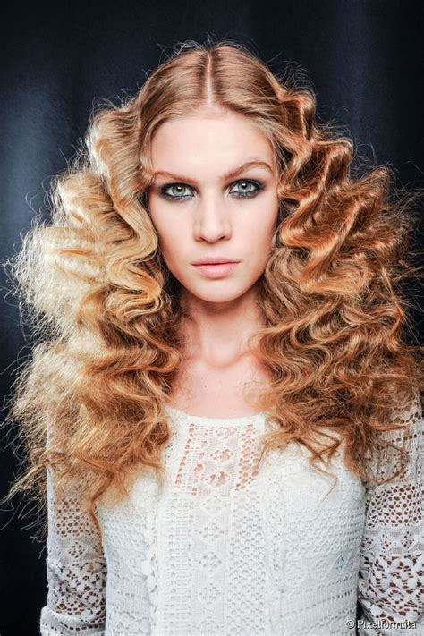 Big hair ideas   photos for 2014 high volume curls trend