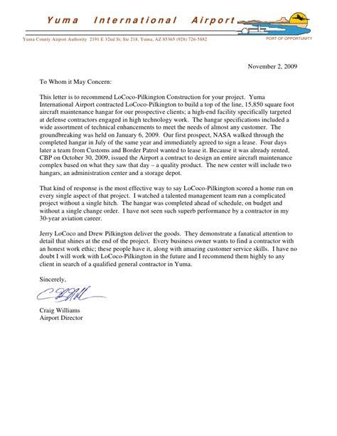 Letters Of Recommendation Lpc