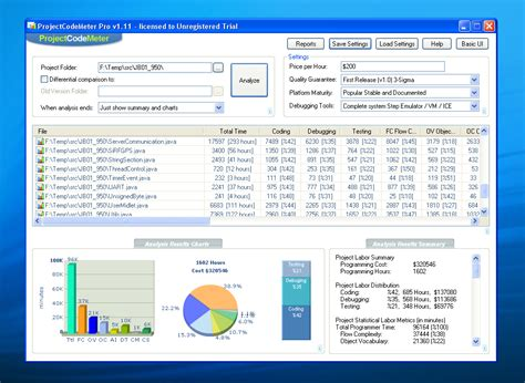 software development cost estimation template documentation projectcodemeter software sizing for