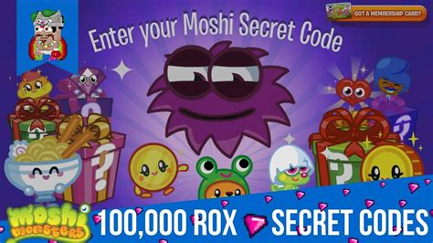 New Skipping Rox Rxj 0618a moshi monsters secrets codes for 100 000 rox 2018 new