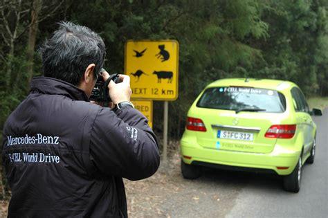 Weltumrundung Auto by Mit Brennstoff In Der Zelle In Mercedes F Cell B Klasse