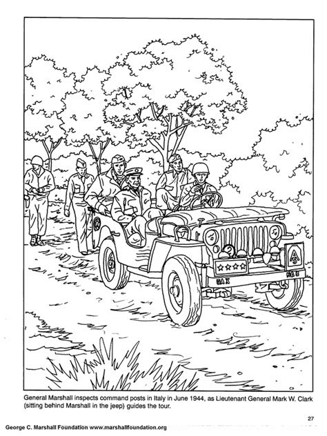 coloring book pages to print | ww2 army coloring pages 008