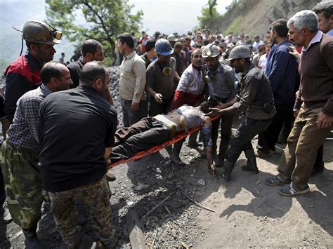 iranian news iran coal mine explosion rescue efforts underway after