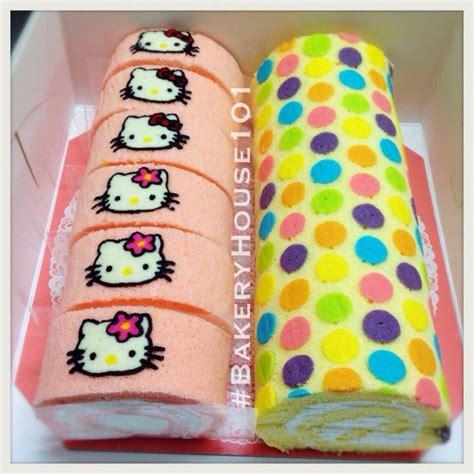 japanese patterned swiss roll japanese deco roll cake ร บทำ roll cake ตาม order ค ะ
