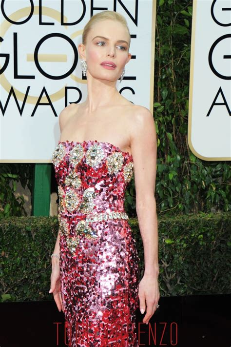 Catwalk To Carpet Kate Bosworth In Dolce Gabbana by Golden Globes Kate Bosworth In Dolce Gabbana Tom Lorenzo