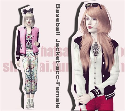 78 best the sims 3 accessories images on pinterest my sims 3 blog accessory baseball jacket by shatsai