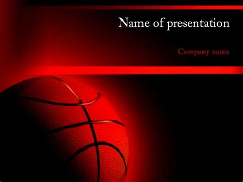 Download Free Basketball Powerpoint Template For Presentation Eureka Templates Basketball Powerpoint Template