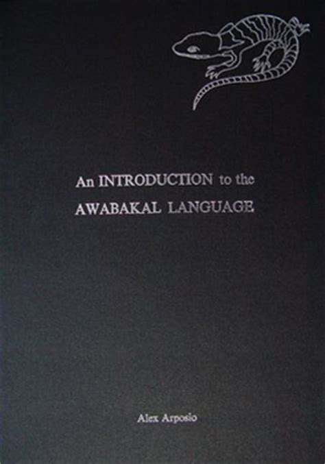 an introduction to language books an introduction to the awabakal language 2nd edition