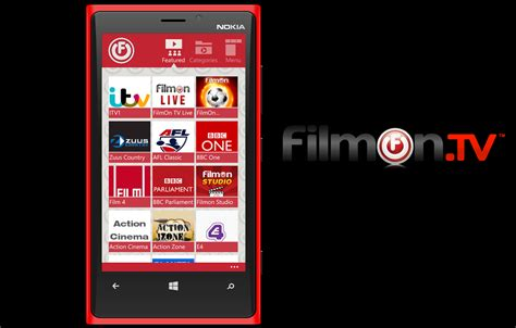 filmon tv mobile filmon tv launching beta app for windows phone