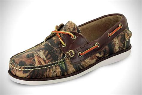 camouflage shoes eastland camouflage boat shoes hiconsumption