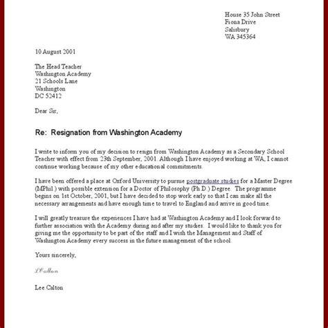 amazing sle resignation letter letter format