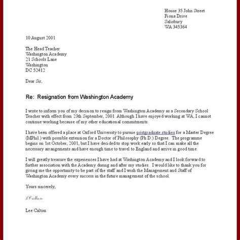 exle resignation letter uk accounting technician resume