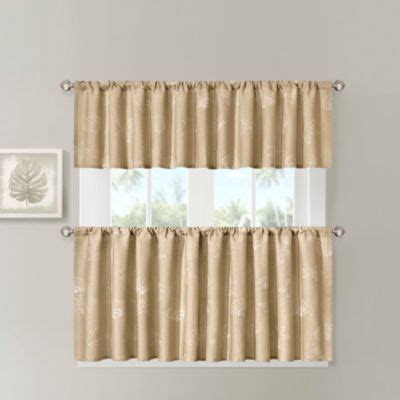 buy cotton kitchen curtains from bed bath beyond