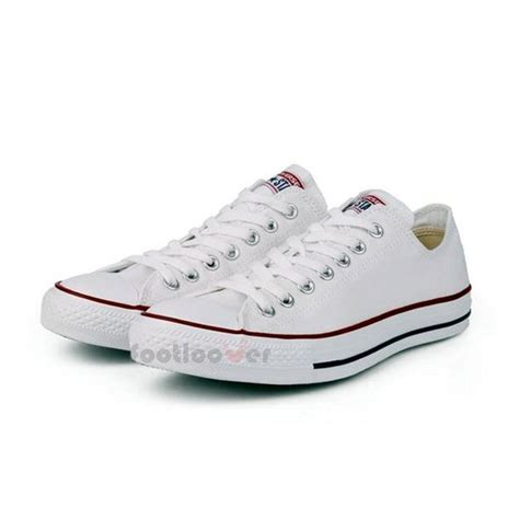all white mens sneakers converse all ct ox classic m7652c mens womens white