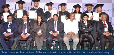 Top 10 Mba Colleges In Russia by How Important Is Convocation In A Student S Jaro