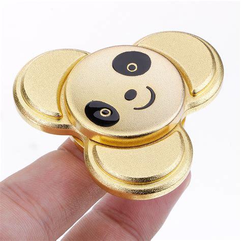 Kungfu Panda Fidget Spinner Metal Spin Spinner Promo store gex panda trio bearing spinner gx033