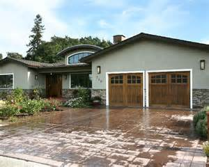 exterior rancher stacked stone entry design pictures remodel decor and ideas improvements