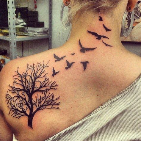 tree and bird tattoo 1000 ideas about tree bird on bird