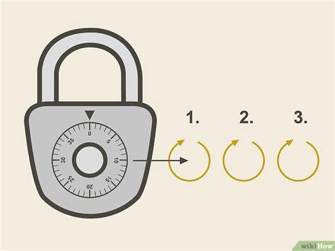 wikihow cadenas 3 mani 232 res de ouvrir un cadenas 224 combinaison