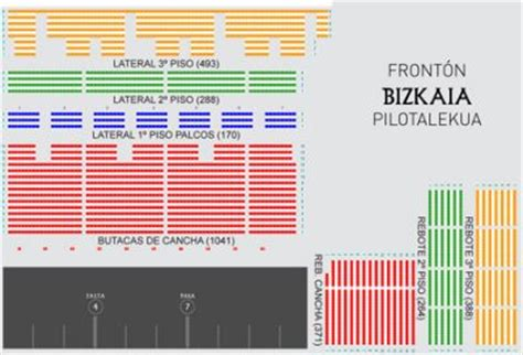 fronton bizkaia entradas todos los datos del front 243 n bizkaia