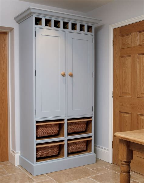 Free Standing Kitchen Pantry Cabinet by Kitchen Larder C The Bespoke Furniture Company