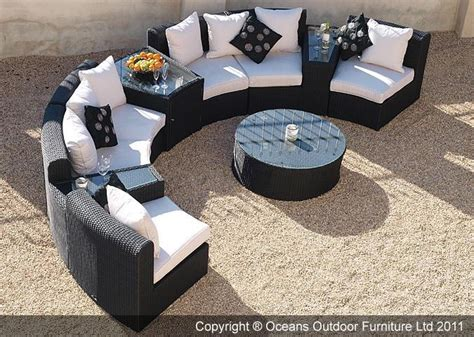circular outdoor sofas the fabulous marco polo semi circular sofa set is ideal