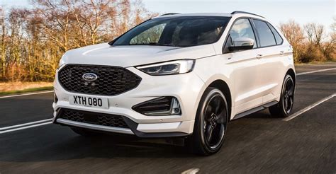 new ford cars 2018 2018 ford edge arrives in europe with 175kw bi turbo