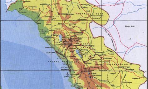 Atlas Tematik Provinsi Papua peta kota peta provinsi sumatera barat