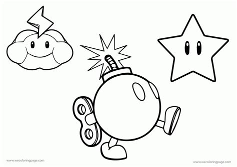all mario character coloring pages coloring home