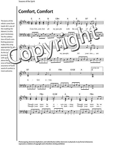 comfort song seasons online