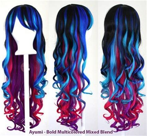 Half Wig Curly Ayumi Colored Wigs Wigs And Bachelorette On
