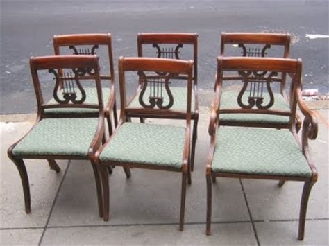 duncan phyfe dining chairs styles duncan phyfe lyre back dining chairs furniture styles