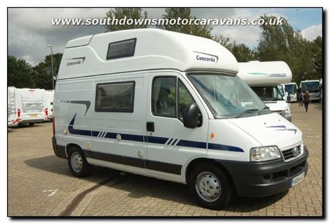 Small Motorhomes For Sale Uk Southdowns Used Concorde Compact Motorhome U2620 4 47