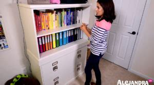 organize with alejandra video how to organize office files home office