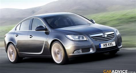 opel holden opel insignia holden vectra revealed photos