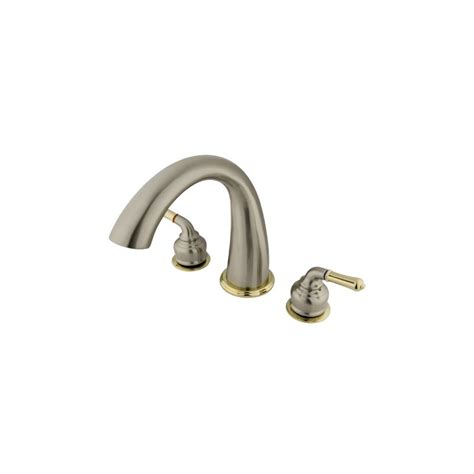faucet ks2369 in satin nickel polished brass by