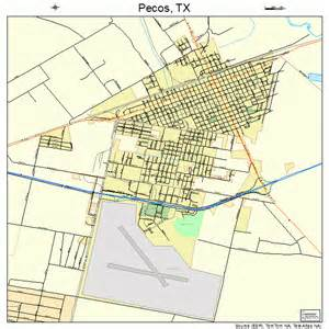where is pecos on a map pecos map 4856516